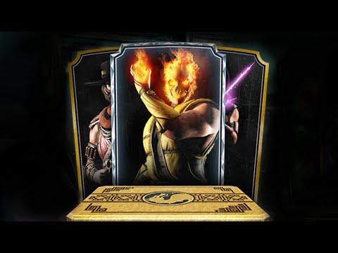Mortal Kombat X - Открытие Элитных Наборов! (iOS)