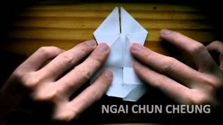 Origami Animal Puppet (tutorial)