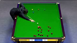 Ronnie o'sullivan century break against Marco fu frame 2 Masters 2018