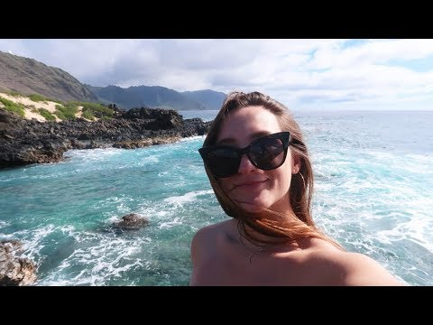 SWIMMING WITH WILD DOLPHINS + KAENA POINT FROM ABOVE :: HAWAII :: OAHU :: VLOG 193