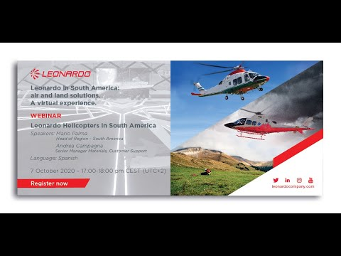 Leonardo in South America Webinar: Helicopter Business