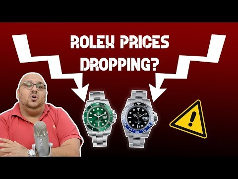 Rolex, Patek And AP Prices Dropping ? What Is Going On ?