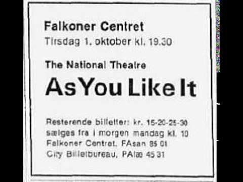 1968-x-1 National Theatre, London: As you like it by Shakesp