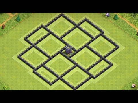 New Ultimate Dark Elixir Base Farming Townhall 8   Clash Of Clans Th8 Best Base