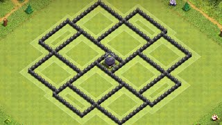 New Ultimate Dark elixir Base farming Townhall 8 | Clash of clans Th8 best base