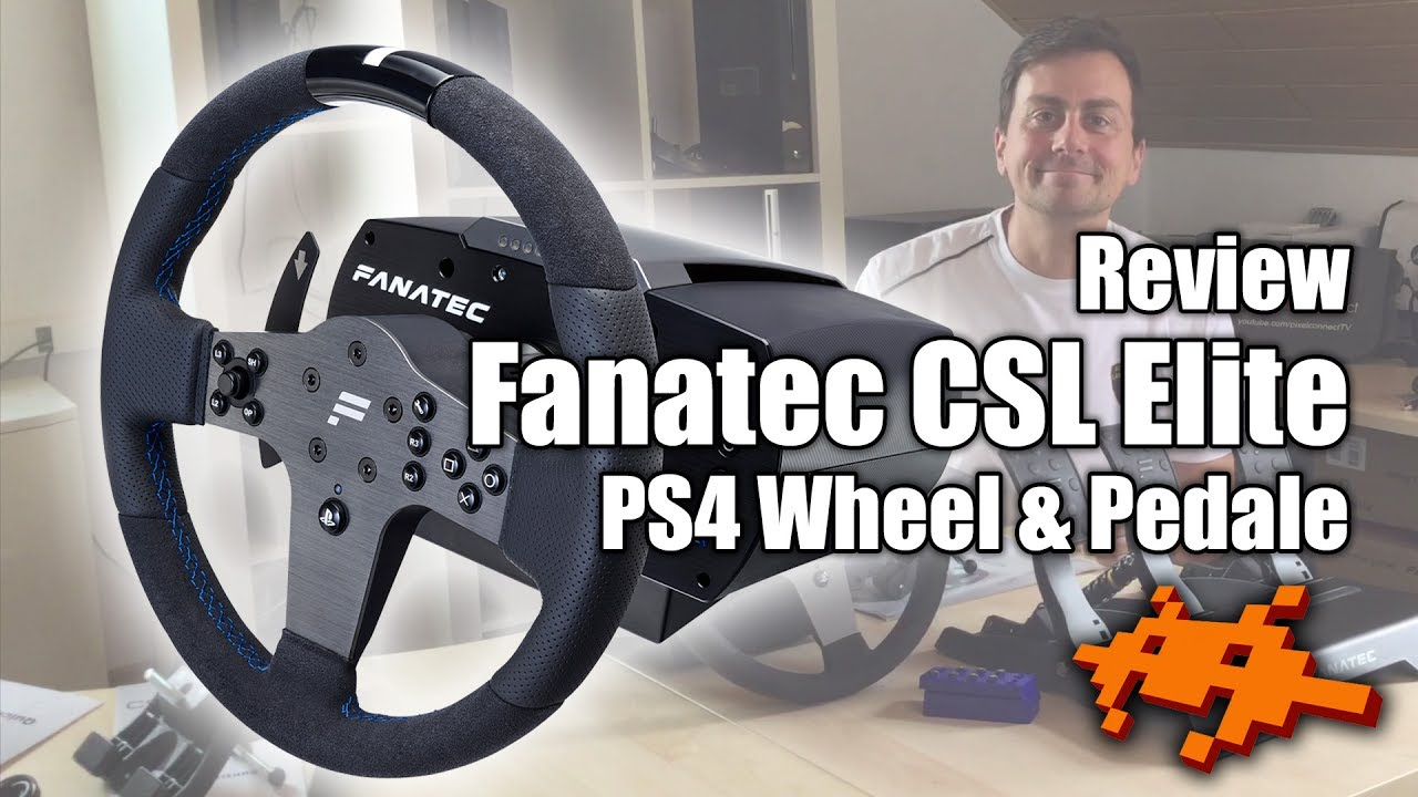 review fanatec csl elite wheel pedale praxis test ps4. Black Bedroom Furniture Sets. Home Design Ideas