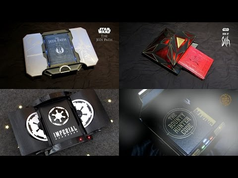 STAR WARS Deluxe Vault Books: The Jedi Path - Book of Sith - Imperial Handbook - Bounty Hunter Code