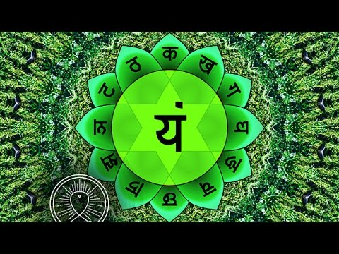 Binaural Beat Sleep Meditation: Heart Chakra ANAHATA Cleansing, Positive Energy Boost