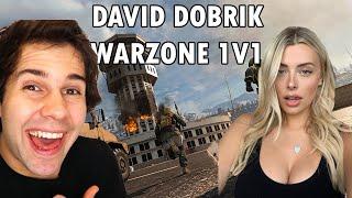 David Dobrik 1v1 to Win the Game Featuring Corinna | David Dobrik Twitch Live Stream Warzone