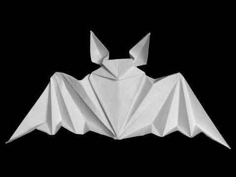 paper origami bat | paper | origami | paper bat | origami bat | how to make paper bat.