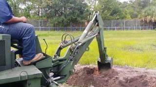 Hydraulic Equipment Operation