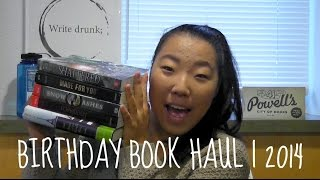 BIRTHDAY BOOK HAUL | 2014 Thumbnail