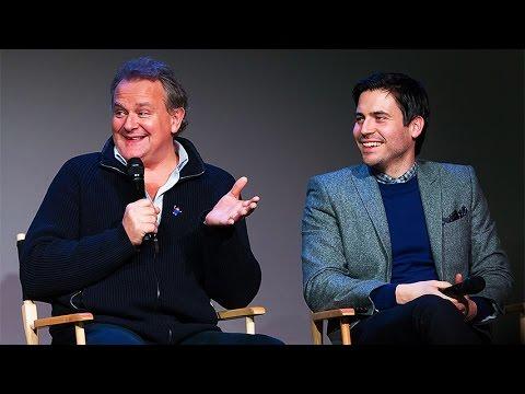 Hugh Bonneville and Rob James Collier  Downton Abbey: Meet the Cast by Apple Inc  Dec10th2014