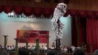 KK International High Pole Lion dance competition- Persatuan Tarian Singa Kota Kinabalu