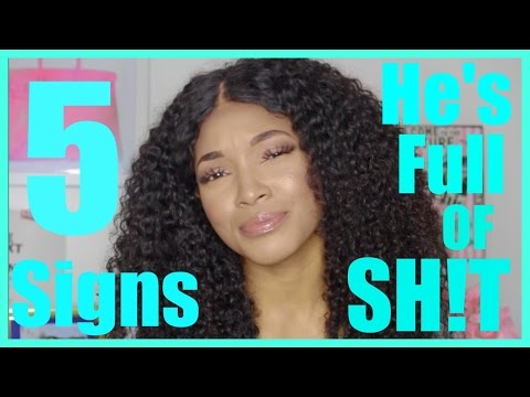 5 Signs He's Full Of Sh*T | IS HE LYING To You??? | Brittany Daniel