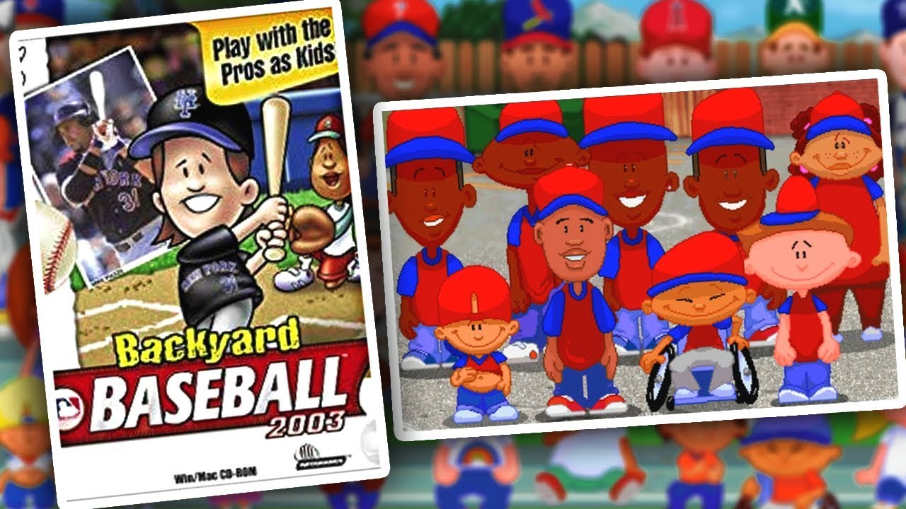 Backyard Baseball: The Greatest Sports Game EVER - YouTube