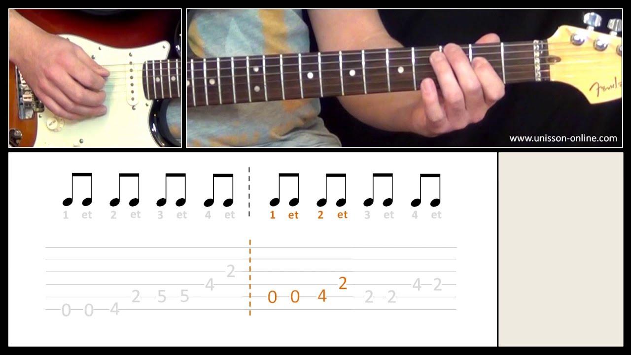 partition guitare ca c'est vraiment toi
