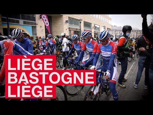 21.04.25 En immersion avec le Team TDE - Liège Bastogne Liège