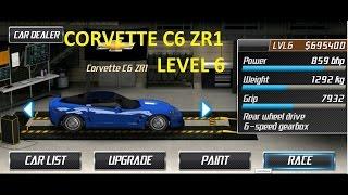 drag racing chevrolet corvette c6 zr1 career stage 6