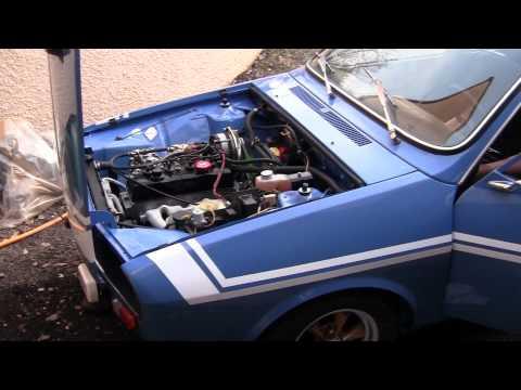 Démarrage Renault r12 gordini spoilt43