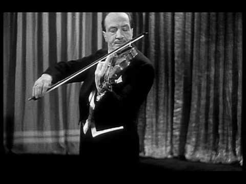 Jacques Thibaud- Franck Violin Sonata 1rst mvt