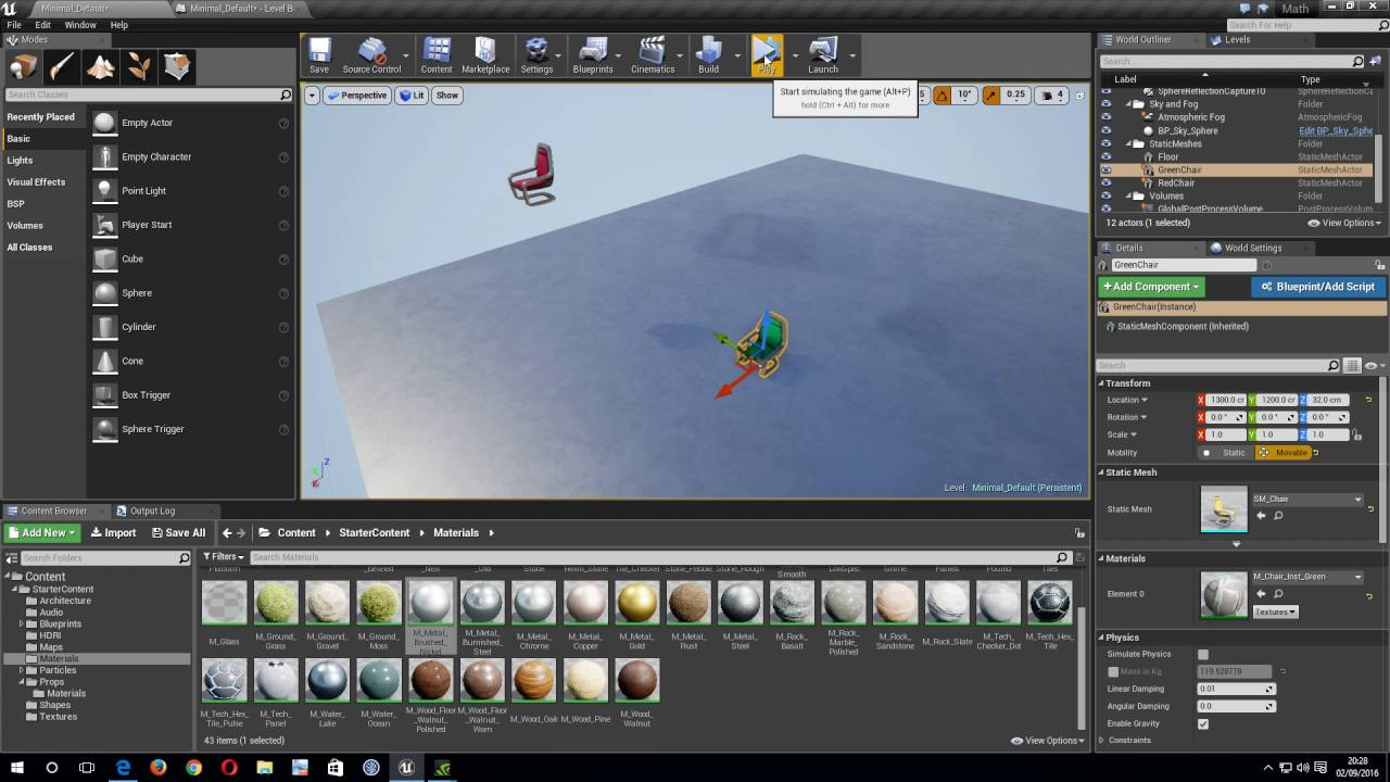 UE4 Find Look At Rotation