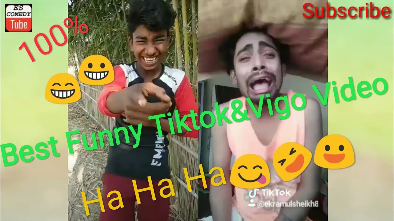 Funny Video | Of Tiktok&Vigo | By ES ComedyTube