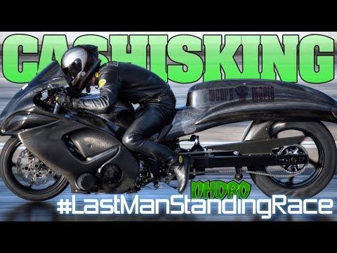 Nhdro 2018 Last Man Standing motorcycle grudge bike racing, Atlanta Dragway Season Opener