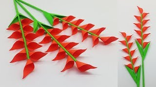 How to Make Beautiful Paper Stick Flower | Paper Craft | DIY Flowers