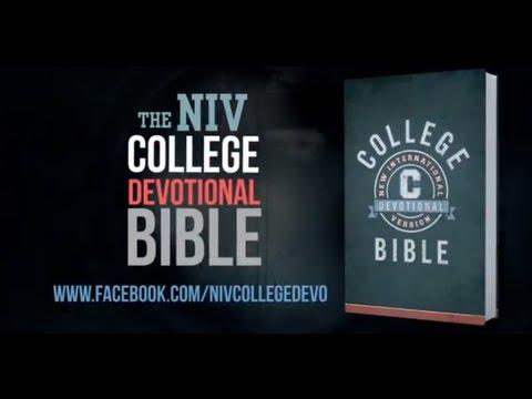 niv devotional bible