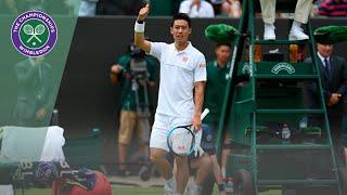 Match Point: Kei Nishikori vs Steve Johnson Wimbledon 2019