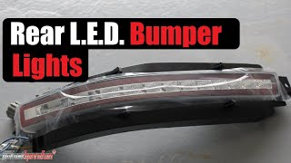 Nissan 350Z rear LED bumper light full install, step by step (iJDMTOY)