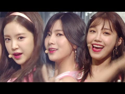 """A Pink """"Comeback Special"""" - FIVE @ Popular Inkigayo 20170702"""