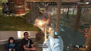 APEX LEGENDS-First LOOK- Leland's First Gameplay- APEX vs Fortnite?