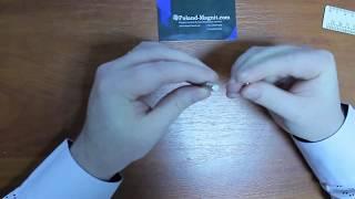 Польский Неодимовый магнит 6*3 Видео-обзор Poland-magnit.com