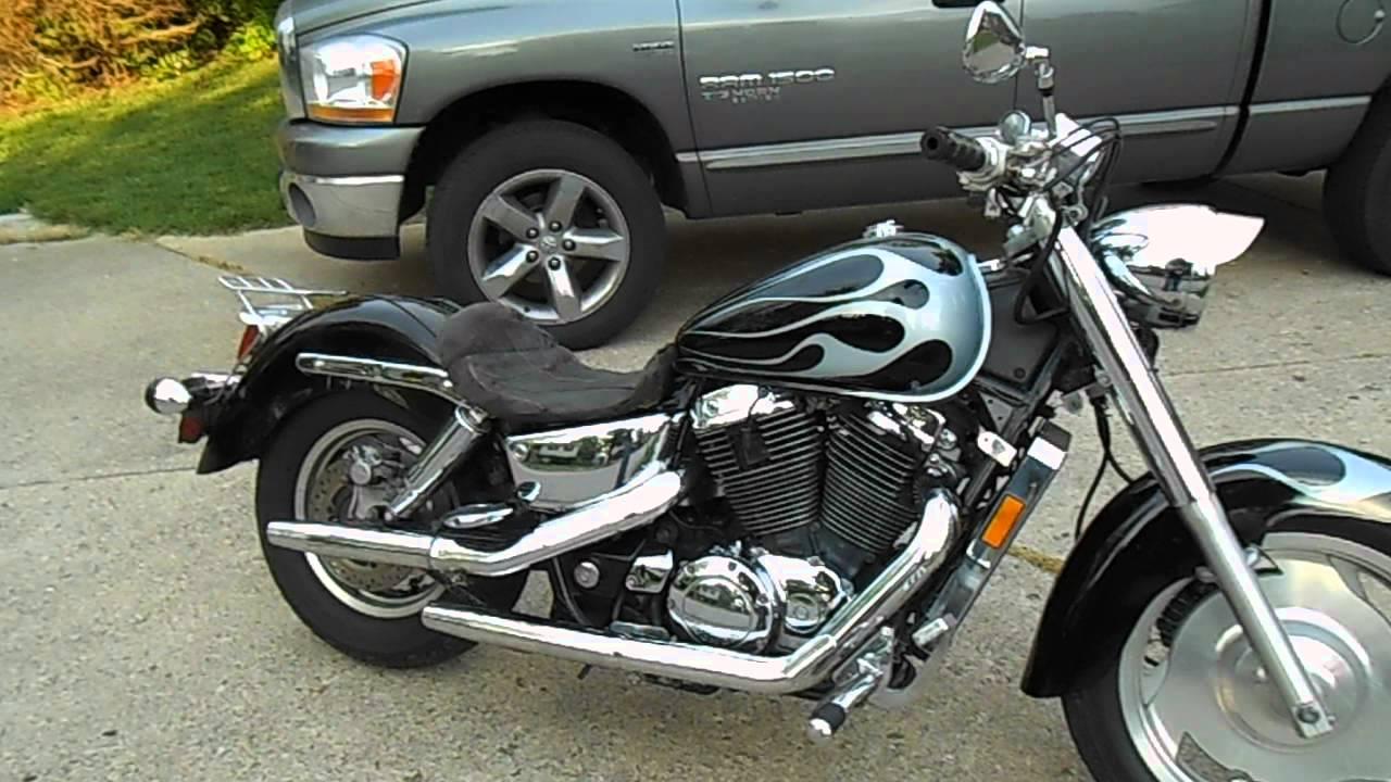 2000 Honda Shadow 1100 38000 Miles For Sale 2000 Youtube