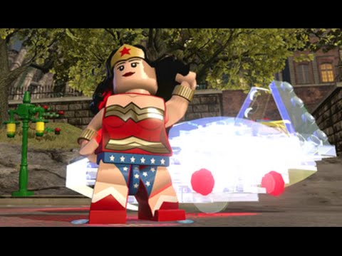 lego dimensions wonder woman open world free roam character showcase
