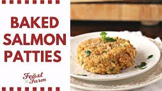 Baked Salmon Patties