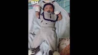 Panhavin listen music then dance - baby cute dance follow music - Baby Cute Boy 😍😍😁