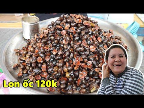 Kỳ lạ lon ốc dừa 120k ở chợ Bến Thành chỉ bán cho người giàu và ship qua nước Mỹ