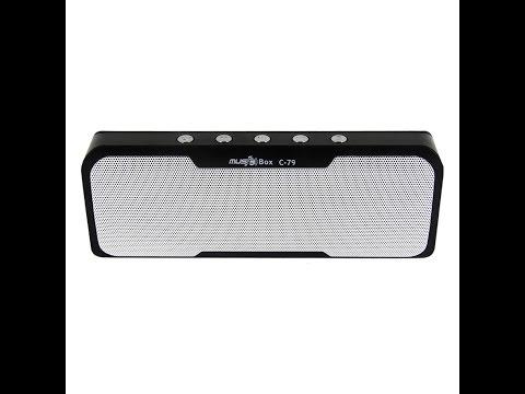 רמקול בלוטוס + POWER BANK במכשיר אחד MINI MUSIC BOX C79
