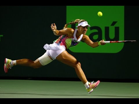 2016 Miami Open Quarterfinals | Angelique Kerber vs Madison Keys | WTA Highlights