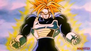 trunks powers up to super trunks hd