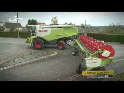 Combine Header Trailers From COCHET For CLAAS