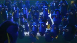 Finding Dory -  Reunion & Getting Caught Scene