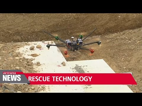Korean researchers develop technology to rescue earthquake victims