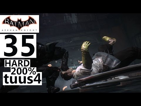 Batman: Arkham Knight Walkthrough (Hard 200%) Part 35 - Perf