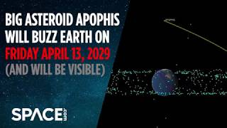 Asteroid Apophis to Buzz Earth on Friday the 13th - April 2029