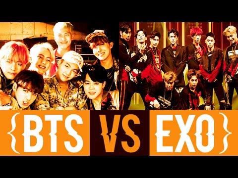 EXO VS BTS