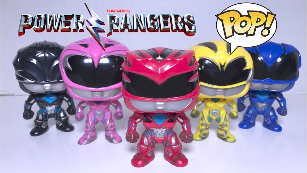 0cd69b2a0e1 Power Rangers Movie Pop! Vinyl Figures Review  Power Rangers Movie  -  YouTube